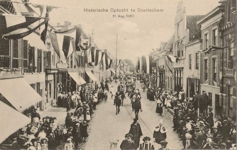 Historische Optocht te Doetinchem, 31 augustus 1910
