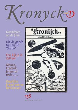 Omslag Kronyck 158