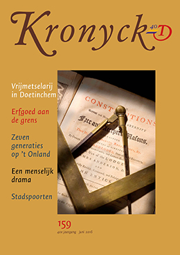 Omslag Kronyck 159