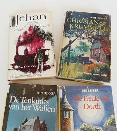 Een aantal door Bekker geschreven boeken