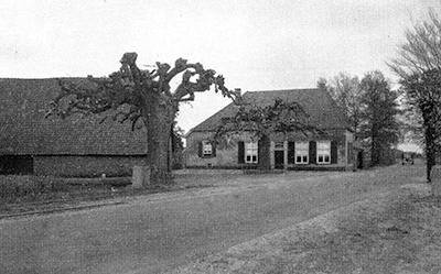 De Radstake voor de verbouwing in 1939