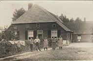 Familiefoto voor boerderij Sax