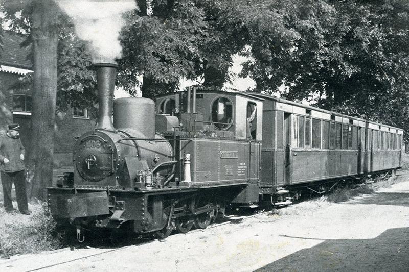 Tramlijn tussen Doesburg en Doetinchem in 1932