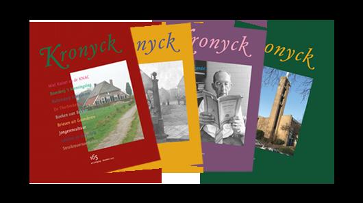 Covers Kronycken door Historische Vereniging Deutekom