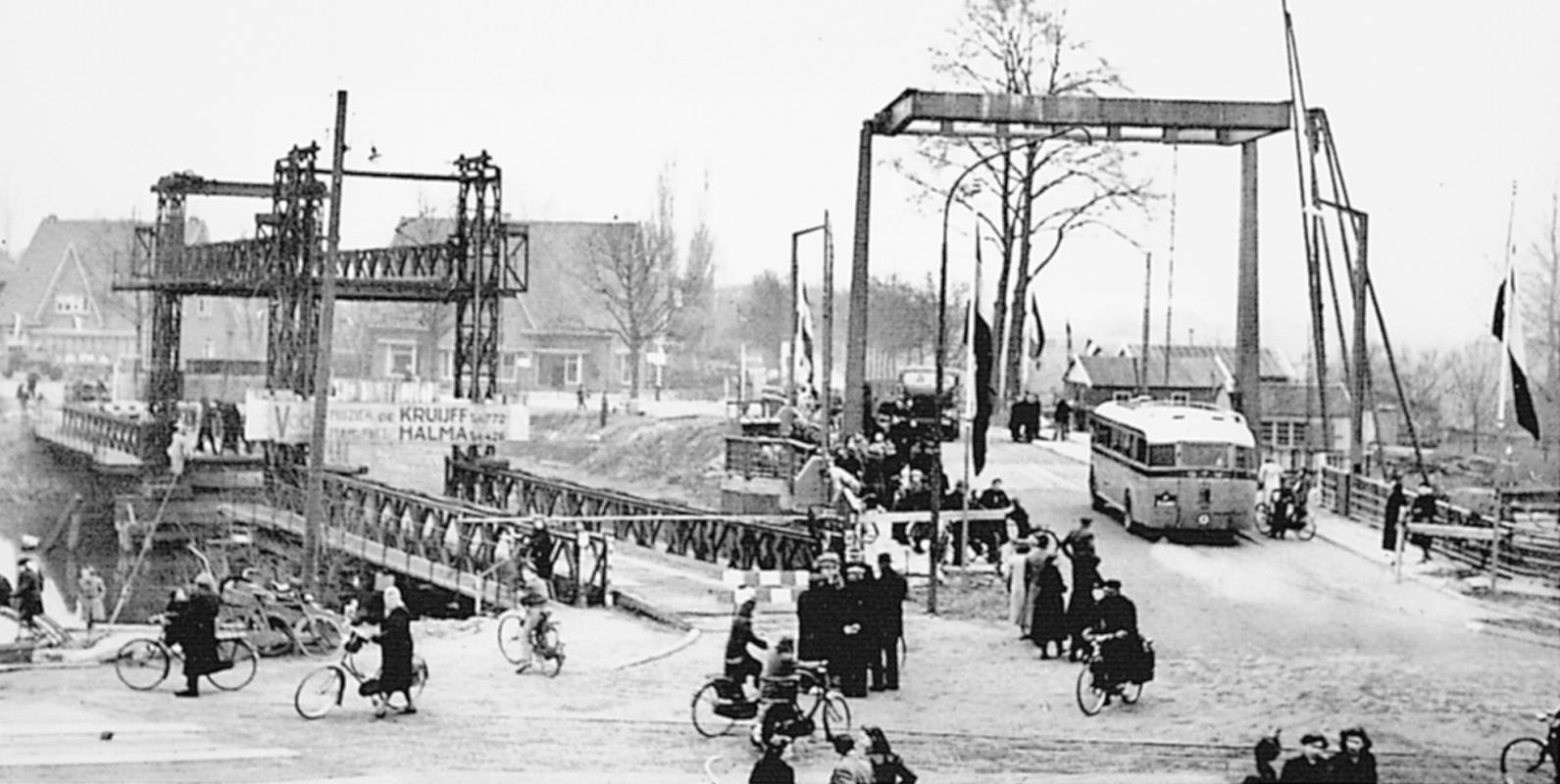 De IJsselbrug, toen