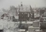 Een foto van het centrum van Doetinchem na het bombardement in 1945