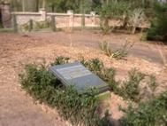 Foto van de begraafplaats familie Passmann