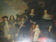 Een familiportret van het gezin van Franco de Bruyn