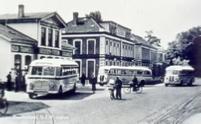 Tramlijnen werden vervangen door buslijnen