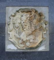 Stenen Leeuw bij het Gemeentehuis Doetinchem