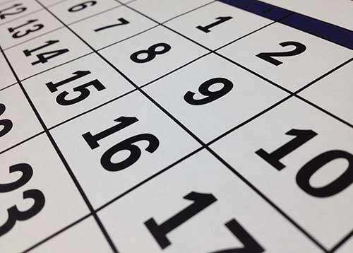 Om al vast in uw agenda te noteren: Data van de lezingen en overige activiteiten voor het seizoen 2018/19