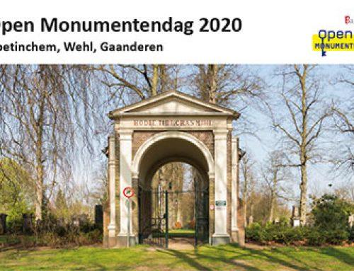 Open Monumentendag 2020