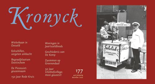 Kronyck 177 – is te bestellen bij het secretariaat via het contactformulier of secretaris@deutekomhistorie.nl