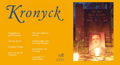 Kronyck 178 – is te bestellen bij het secretariaat via het contactformulier of secretaris@deutekomhistorie.nl
