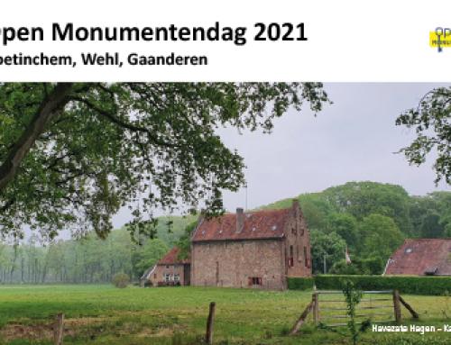 Open Monumentendag 2021